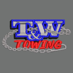 T&W Towing Youth Hooded Sweatshirt  Design