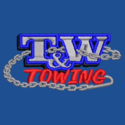 T&W Towing Youth Crewneck Sweatshirt Design
