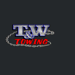 T&W Towing American Flag T-Shirt Design